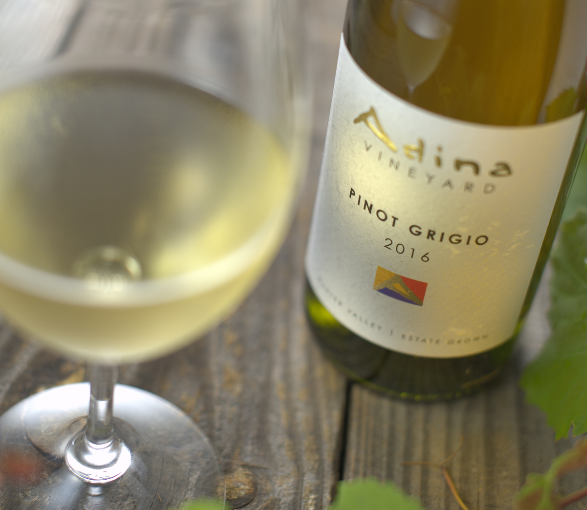 Delicious chilled Pinot Grigio